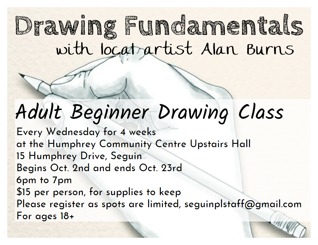 Adult Beginner Drawing Classes