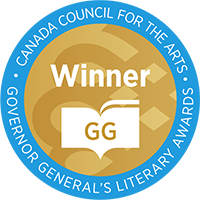 Governor General Literary Winner Award image. Decorative.
