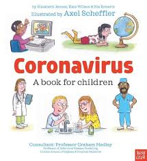 Book Cover for Coronavirus, a book for children