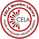 Decorative CELA Member Library Logo