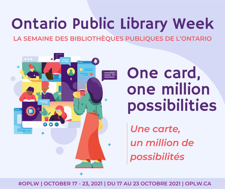 Ontario Library Week banner.